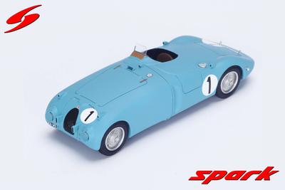 1/43  Bugatti 57 C No.1 Winner 24H Le Mans 1939 J-P. Wimille - P. Veyron