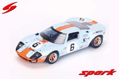 1/43  Ford GT 40 No.6 Winner 24H Le Mans 1969 J. Ickx - J. Oliver