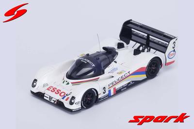 1/43  Peugeot 905 No.3 Winner 24H Le Mans 1993 E. Hélary - C. Bouchut - G. Brabham