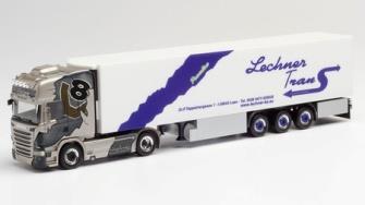 """1/87 スカニア R 13 TL冷蔵ボックスレーラー""""Lechner Trans"""""""