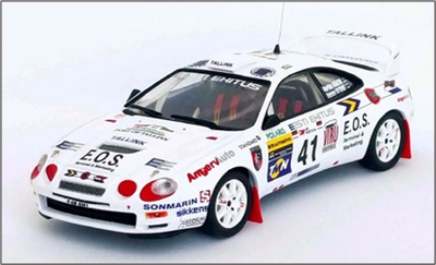 1/43トヨタ セリカ GT Four  1998年ラリー・ポルトガル   #41 M. Märtin / T. Kitsing