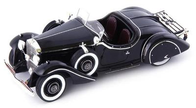 1/43 メルセデス・ベンツ 290(W18) ロードスター Amilcar 1933 ブラック