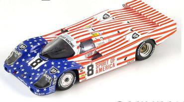 1/64  Porsche 956 No.8 3rd 24H Le Mans 1986     G. Follmer - J. Morton - K. Miller