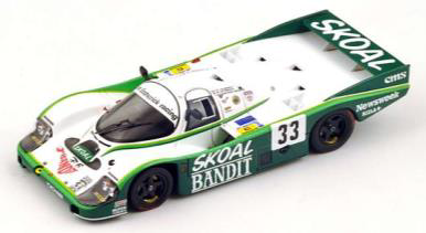 1/64  Porsche 956 No.33 3rd 24H Le Mans 1984     D. Hobbs - P. Streiff - S. van der Merwe