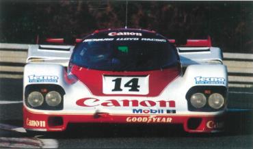 1/64  Porsche 956 No.14 2nd 24H Le Mans 1985      J. Palmer - J. Weaver - R. Lloyd