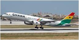 B757-200 ガーナ・インターナショナル航空