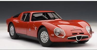 アルファ・ロメオ TZ2 1965 (レッド)