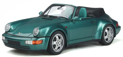 1/18ポルシェ 911(964) コンバーチブル ターボルック (グリーン)