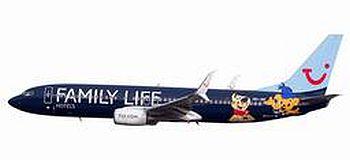 B737-800 ジェットエアフライ航空 Family Life Hotels OO-JAF