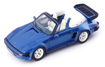 1/43 ポルシェ 911 SE フラットノーズ コンバーチブル 1988 ブルー