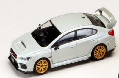 1/64スバル WRX STI EJ20 ファイナルエディション (EJ20エンジンディスプレイモデル付き)クリスタルホワイトパール