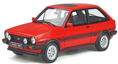 1/18  フォード フィエスタ XR2 Mk.1 (レッド) 世界限定 2,000個