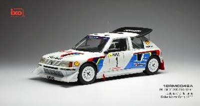 1/18  プジョー 205 T16 E2   1986年ラリー・モンテカルロ  2位 #1 T.Salonen/S.Harjanne
