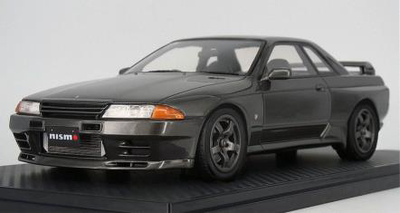 1/18  Nissan Skyline GT-R NISMO (BNR32) Gun Gray Metallic  ※Normal Wheel  ★生産予定数:140pcs