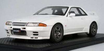 1/18  Nissan Skyline GT-R NISMO (BNR32) White ※Normal Wheel ★生産予定数:120pcs
