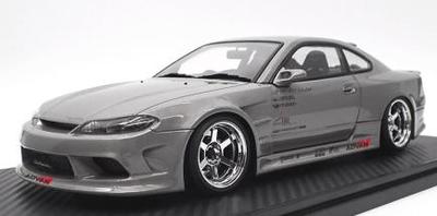 1/18  VERTEX S15 Silvia Dark Silver  ★生産予定数:120pcs