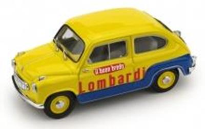 """1/43""""フィアット 600  """"BRODO LOMBARDI""""   1960"""""""