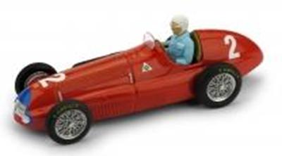 """1/43""""アルファ ロメオ 158  1950年英国&ヨーロッパGP  #2 Nino Farina  ドライバーフィギュア付"""""""