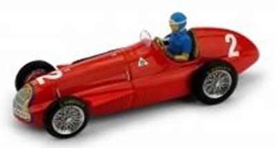 """1/43""""アルファ・ロメオ 159   1951年ベルギーGP 優勝 #2 Fangio ドライバーフィギュア付"""""""
