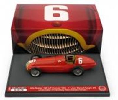 """1/43""""アルファ・ロメオ 158   1950年フランスGP  優勝 #6  Juan Manuel Fangio"""""""