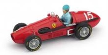 """1/43""""フェラーリ 500 F2  1952年 イギリスGP  優勝   #15  A.Ascari  ドライバーフィギュア付"""""""