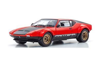 1/18 デ・トマソ パンテーラ GT4 レッド/ブラック  (ダイキャストミニカー)