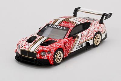 Mini-GT  1/64 ベントレー コンチネンタル GT3 2020 クリスマスエディション (右ハンドル)
