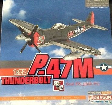 P.47M  サンダーボルト 61st FS、56th FG