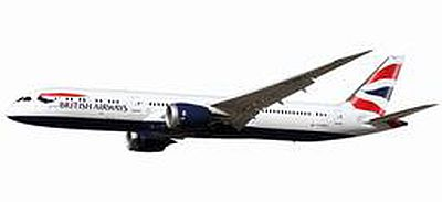 787-9 ブリティッシュエアウェイズ G-ZBKA  (プラスチック製)