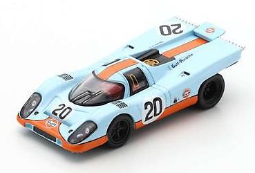 Spark  1/64  Porsche 917 K No.20 24H Le Mans 1970  B. Redman - J. Siffert