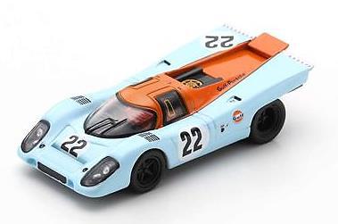Spark  1/64  Porsche 917 K No.22 24H Le Mans 1970  M. Hailwood - D. Hobbs