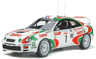 KyoSho  1/18 トヨタ セリカ GT Four ST205 #1 ツール・ド・コルス 1995 (カストロール) 世界限定 3,000個