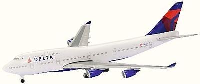 B747-400 デルタ航空