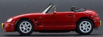 """BM  1/64""""スズキ カプチーノ 1998 レッド RHD"""""""