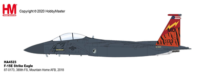 "1/72  F-15E ストライクイーグル ""第389戦闘飛行隊 75周年記念塗装"""