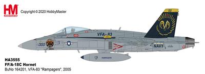 """1/72  F/A-18C ホーネット  """"VFA-83 ランペイジャーズ"""""""