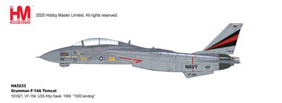"""1/72  F-14A トムキャット 第154戦闘飛行隊  """"ブラックナイツ 1999"""""""