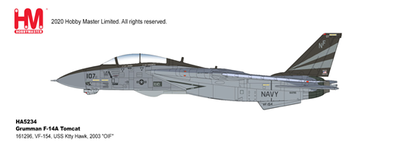 """1/72  F-14A トムキャット 第154戦闘飛行隊  オペレーション・イラク・フリーダム 2003"""""""