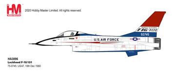 """1/72  F-16/101 """"アメリカ空軍 75-0745"""""""