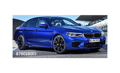 ミニチャンプス 1/87 BMW M5 2018 ブルーメタリック