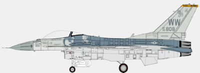 "1/72  F-16C USAF PACAF F-16 Demonstration Team ""Primo"""