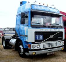 Ixo  1/43ボルボ F12 1981 ホワイト/ブルー