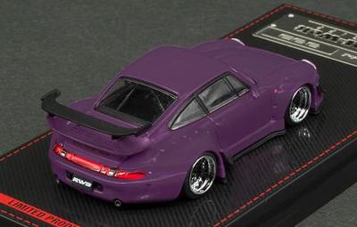 1/64  RWB 993 Matte Purple With Mr.Nakai   ※メタルフィギュア付属