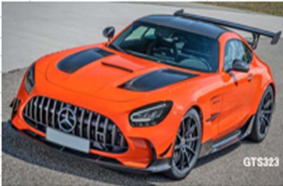 1/18 メルセデス ベンツ AMG GT-R ブラックシリーズ (オレンジ)