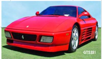 1/18  フェラーリ 348 GTB (レッド)