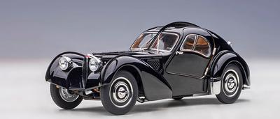 1/18  ブガッティ タイプ57SC アトランティック 1938 (ブラック/ディスクホイール)