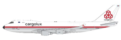 1/400  747-400ERF カーゴルクス レトロカラー LX-NC