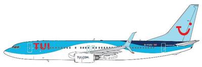 1/400  737-800 TUI 航空 G-FDZU