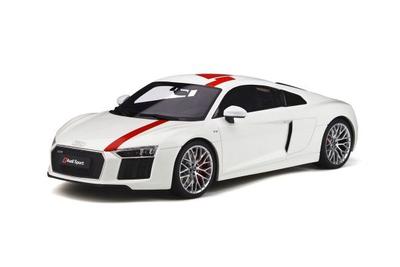 1/18  Audi R8 V10 RWS (White)
