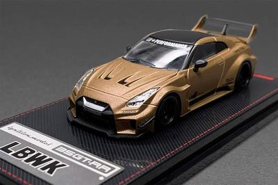 1/64  LB-Silhouette WORKS GT Nissan 35GT-RR Matte Gold